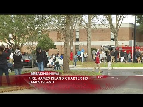 James Island Charter High School Fire Clear