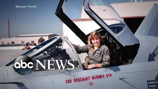 An All Female Crew Of Fighter Pilots Flew In Formation In Honor Of Rosemary Mariner