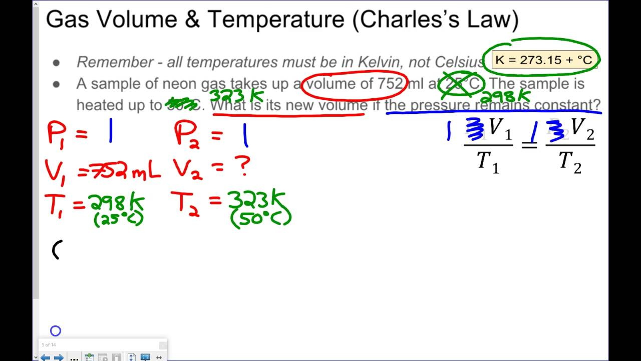 Gas Law Practice Problems - YouTube
