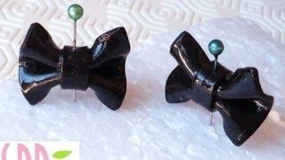 Tutorial: Fiocchi in Fimo - Fimo clay bows