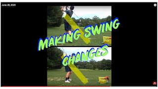 Before After Driver swing plane