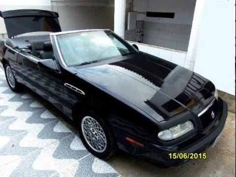 chrysler lebaron cabrio 3 0 v6 1993 youtube. Black Bedroom Furniture Sets. Home Design Ideas