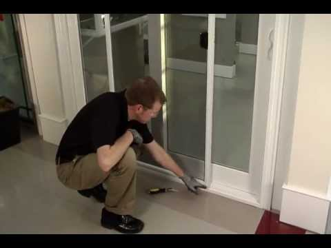 How To: Proper Removal U0026 Replacement Of Sliding Glass Door Screen