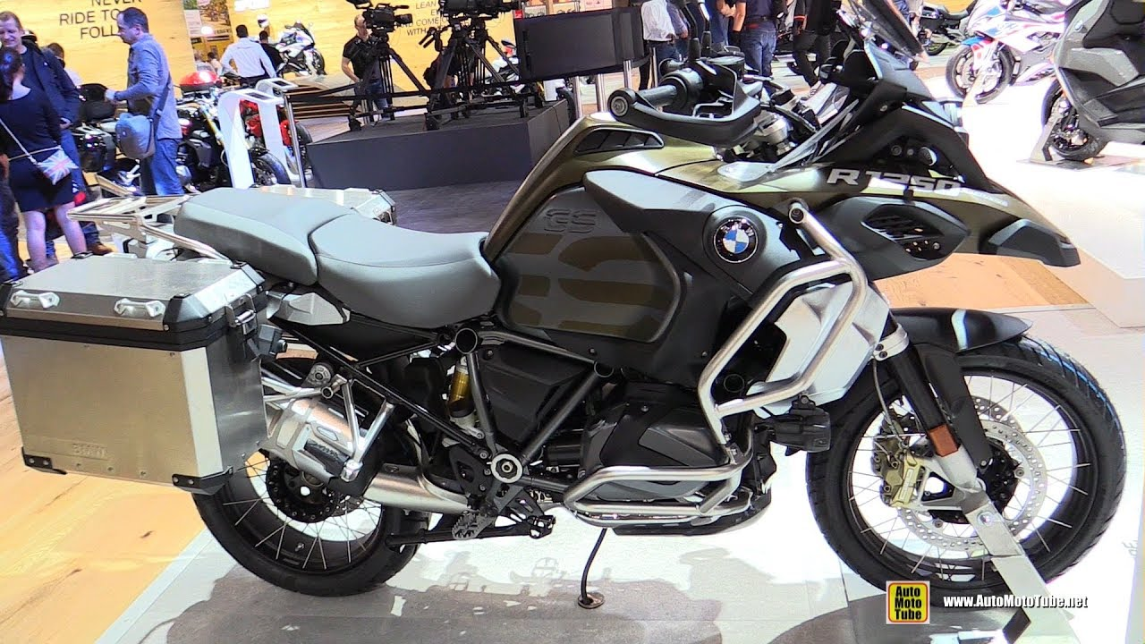 2019 BMW R1250GS Adventure Kalamata Matt - Walkaround - Debut at 2018 EICMA Milan