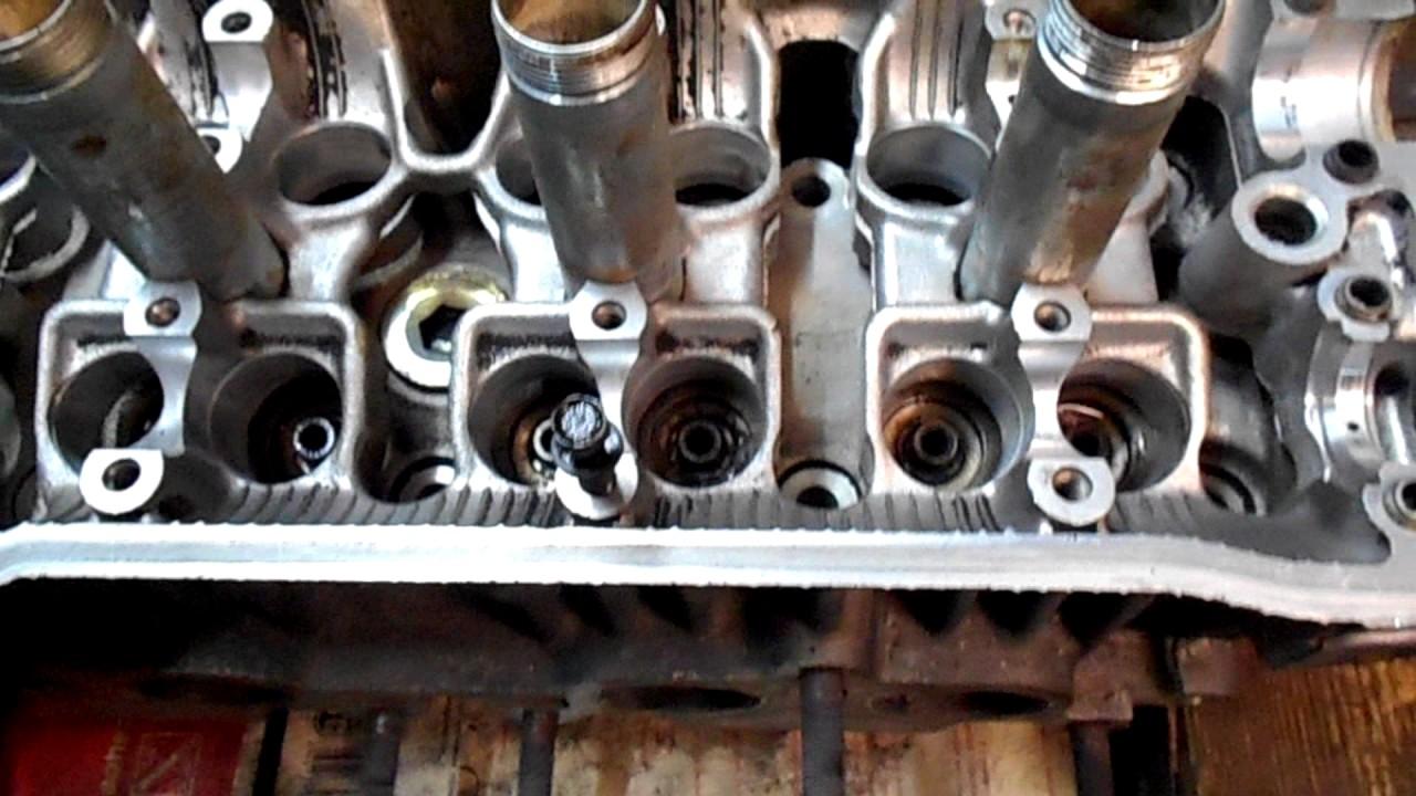 тойота карина двигатель 4s fe,выставляю фазы и снимаю гбц №2
