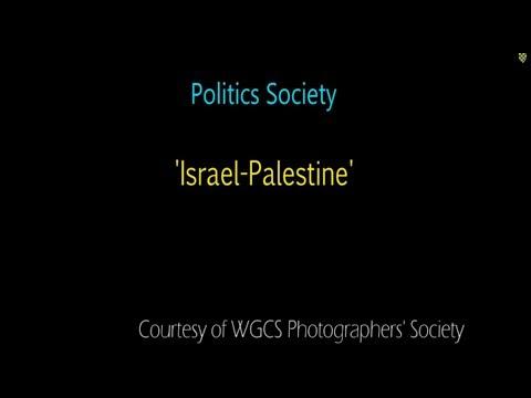 Politics Society: Israel & Palestine
