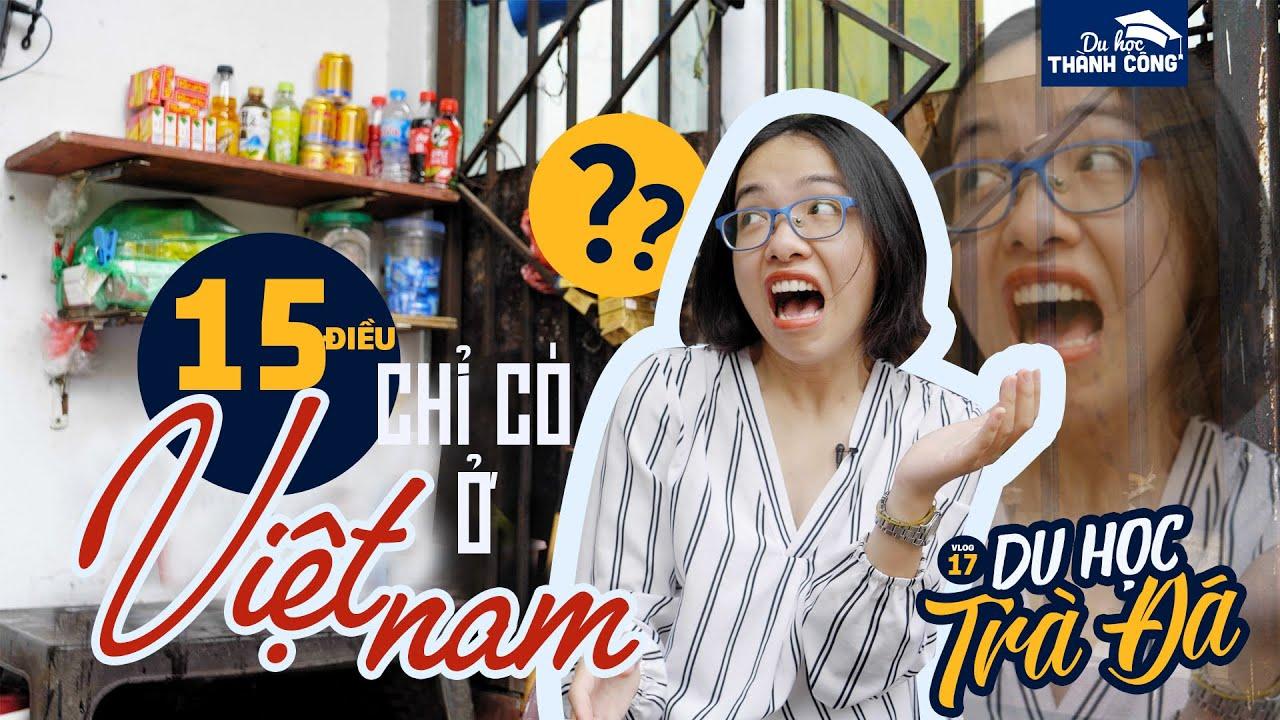 HOẢNG HỐT với 15 CỰC PHẨM chỉ có tại Việt Nam này! | DU HỌC MỸ VLOG: 17 | DU HỌC TRÀ ĐÁ