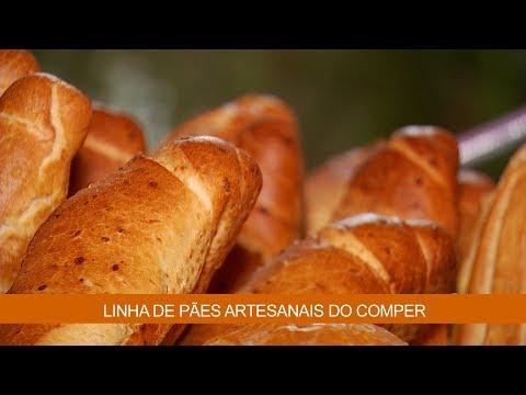 LINHA DE PÃES ARTESANAIS DO COMPER