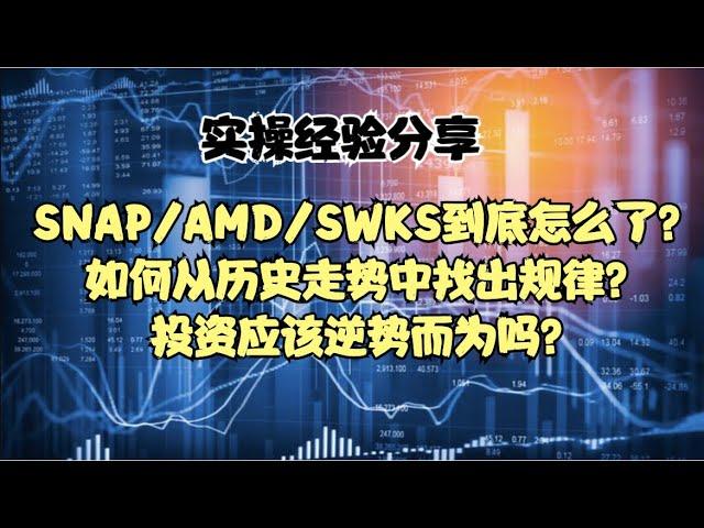 实操经验分享 | SNAP/AMD/SWKS到底怎么了?如何从历史走势中找出规律?投资应该逆势而为吗?