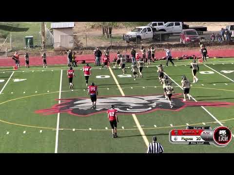 Football - Ignacio Middle School vs Pagosa Middle School  4-22-21