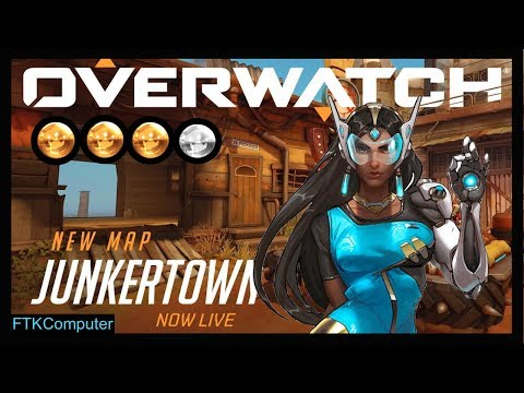 Symmetra Main Trying Out (& Kicking A$$ in) Junkertown!!! | Attack and Defense