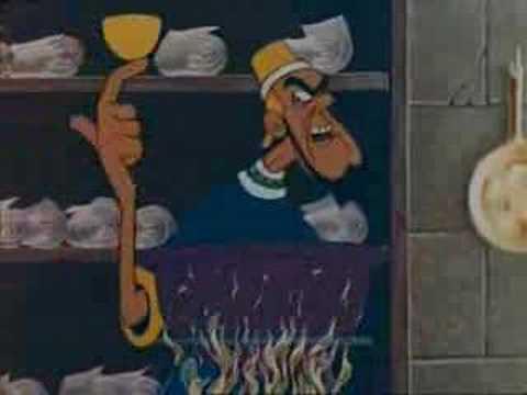 asterix et cleopatre - le pouding à l'arsenic - youtube