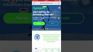 Refer Friends And Get Paid With Influencersearn   dash.influencersearn.com