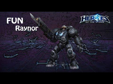 видео: heroes of the storm: top 1 eu (9 выпуск) - Рейнор