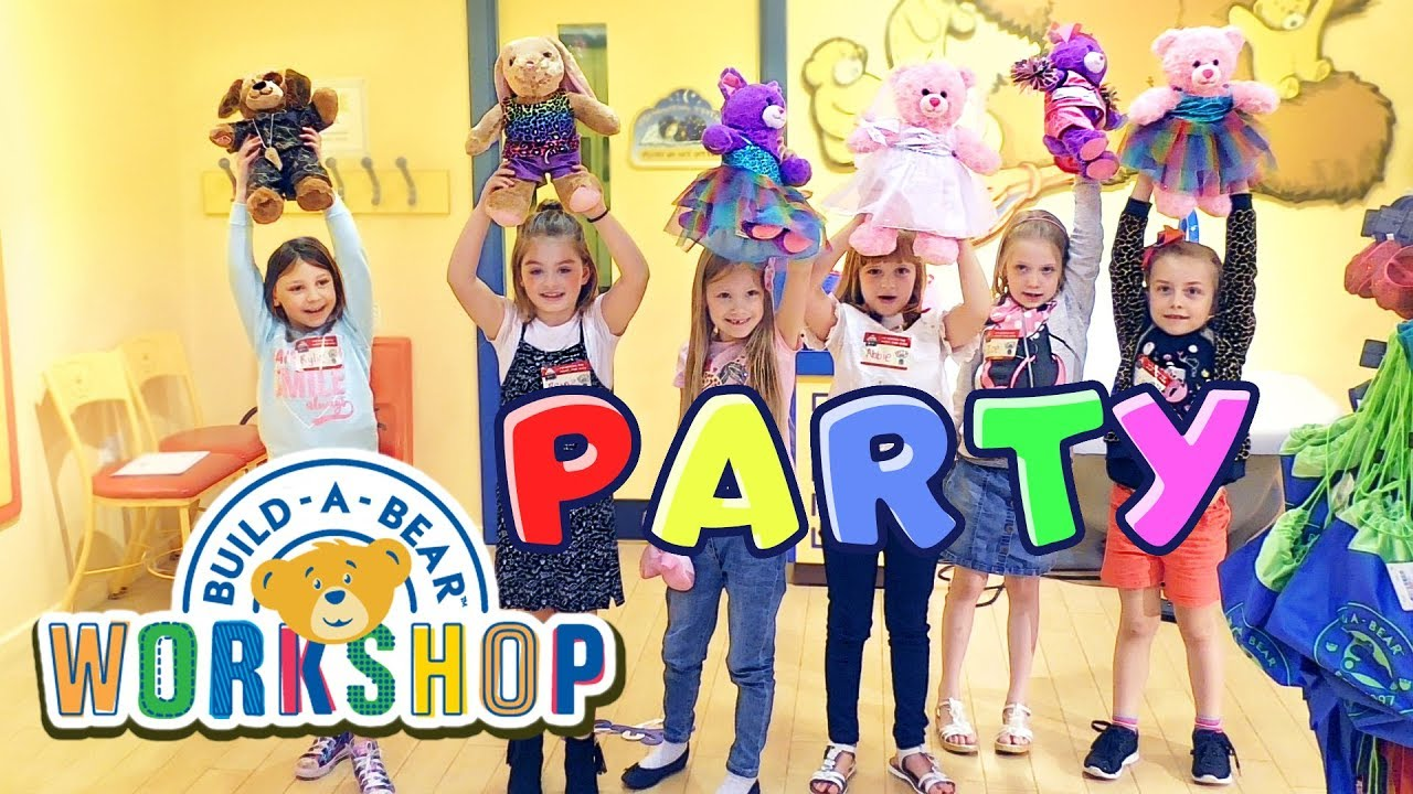 BIRTHDAY PARTY At Build A Bear Workshop Leicester UK
