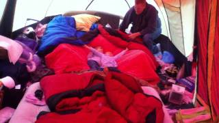What To Do When It Rains And You're Camping....
