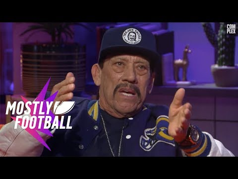 Danny Trejo Talks About Being a Prison Boxing Champ   Mostly Football