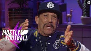 Danny Trejo Talks About Being a Prison Boxing Champ | Mostly Football