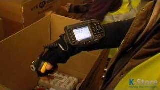 Hands-Free picking with barcode scanners