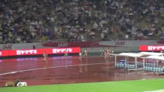 第100回日本陸上競技選手権大会 2016/06/25 女子400m 決勝 順位 レーン No....