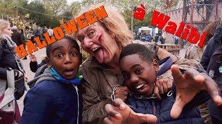 vlog halloween  walibi bloc h des monstres   k boyz tv
