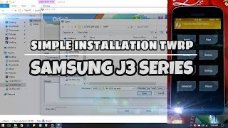 How to Install TWRP Samsung J3 Series 2016, 2017 (SM-J320G, J320F) & Other  Model