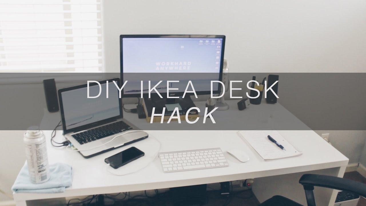 How To Repaint Ikea Desk Vlog 02