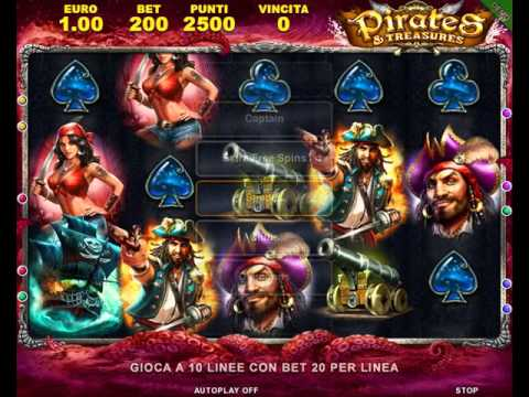 Pirates Treasures Slot Online