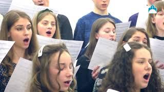 """Буду взирать. Молодёжный хор. """"ц. """"Преображение"""", г. Харьков, 21.03.2021"""