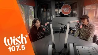 "Yumi and Curse One perform ""Kahit 'Di Na Tayo"" LIVE on Wish 107.5 Bus"