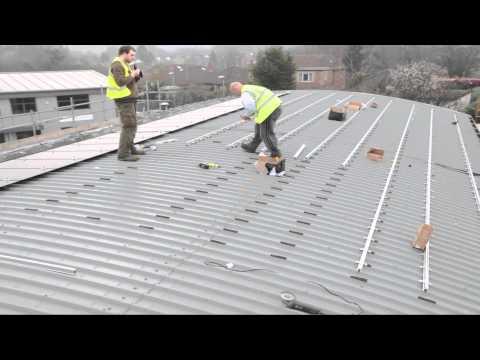 Solar Thin film Install Knaresborough.mov