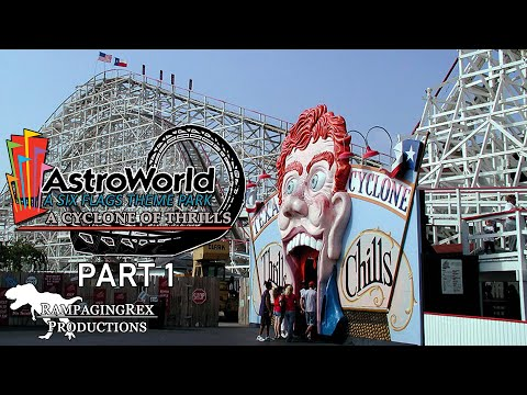 Six Flags AstroWorld: A Cyclone of Thrills [PART 1]