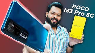 POCO M3 Pro 5G Unboxing And First Impressions ⚡ Dimensity 700, 90Hz Screen, 48MP Camera & More