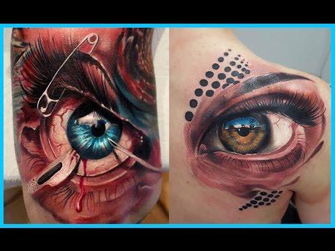 Mejores Tatuajes De Ojos Youtube