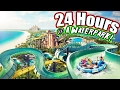 (COPS!) 24 HOUR OVERNIGHT in a WATERPARK! OVERNIGHT CHALLENGE IN A WATERPARK