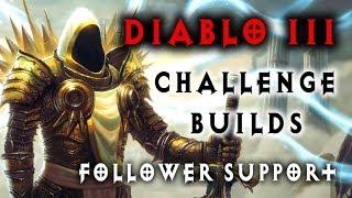Diablo 3 - Challenge Build - Follower Support (Introduction)