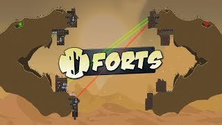 Forts - Snake Head  Fortress Battle! - Epic 4v4 Maps - Forts Gameplay Highlights