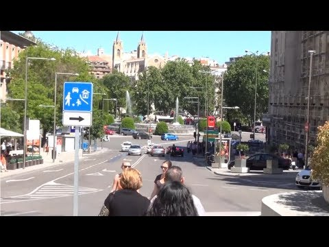 (3D) Madrid Downtown - Museo del Prado and Palacio del Congreso Full HD 1080i