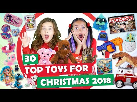 Top Toys for Christmas 2018