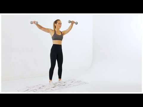 Week 5 Day 1 // Upper Body Strength Workout: Chest + Shoulders