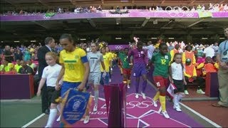 Cameroon 0-5 Brazil - Women's Football Group E | London 2012 Olympics