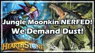 Jungle Moonkin NERFED! We Demand Dust! - Witchwood / Hearthstone