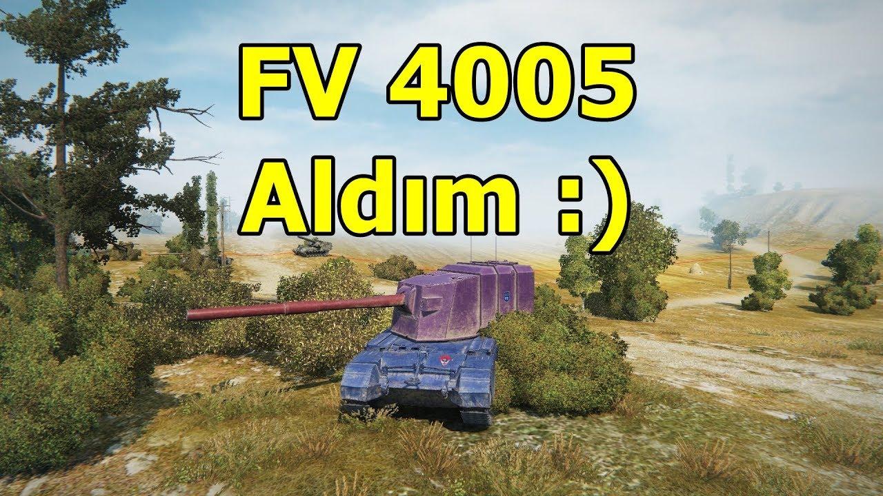 World Of Tanks Fv4005 Satın Alımı Ve Boyama Youtube
