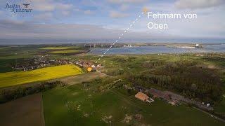 Fehmarn von Oben - Wulfener Hals - Fehmarnsund - 4K