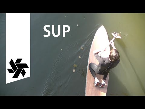 DIY SUP Surf Board // Home Center Materials