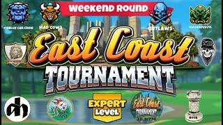 Golf Clash - East Coast Tournament - Weekend Round Expert Division / Видео