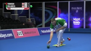 JUST 2018 World Indoor Bowls Championships: Session 18