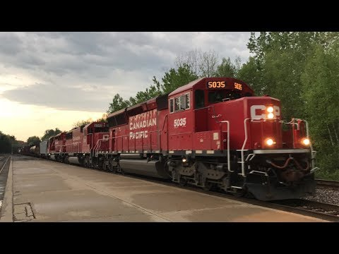 CP 253 Departing Saratoga in a Thunderstorm