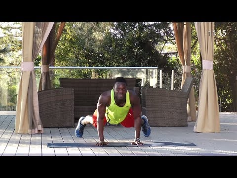 TABATA HIIT Full Body Workout :  Fat Burning TABATA with Dumbbells Routine  -TABATA Strength Workout