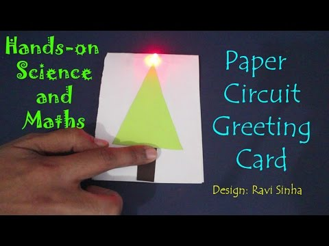 Paper Circuit Greeting | English